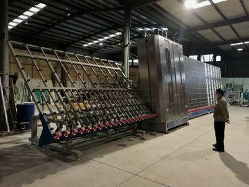 Χαμηλή μηχανή γυαλιού πλύσης Ε, ανώτατο μέγεθος 2800x4000mm γυαλιού πλυντηρίων επίπεδου γυαλιού